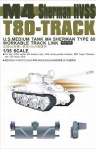 AFV Club M-4 T80 Tracks