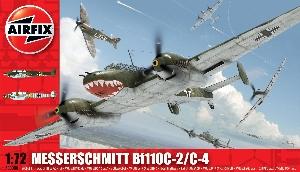 Airfix Messerschmitt Bf110C-2C-4  1:72