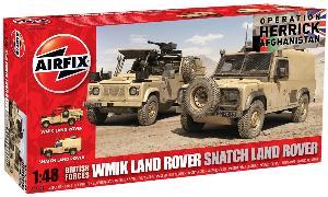 Airfix WMIK Land Rover/ Snatch Land Rover