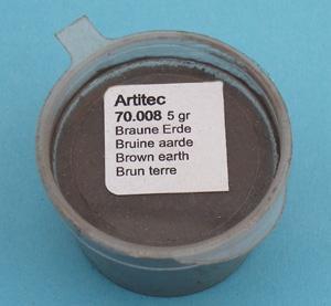 Artitec Bruine aarde (modelbouwpoeder)