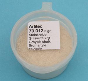 Artitec Grijswitte krijt (modelbouwpoeder)