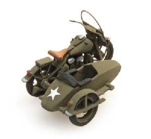 Artitec US Army motor met zijspan