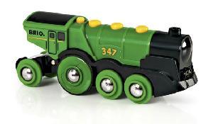 Brio Big Green Loco  batt. powered