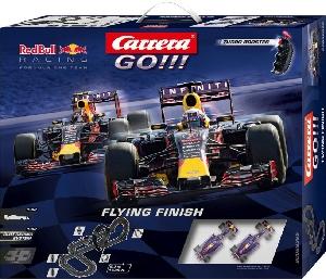 "Carrera ""Flying Finish "" Red Bull F1 Cars Go"