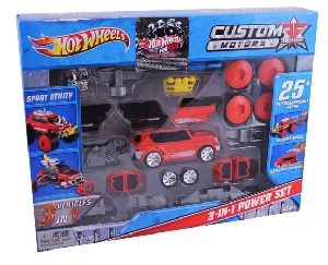 Hotwheels 3 in 1 Power set
