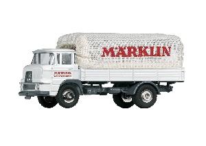 """Marklin Krupp vrachtwagen met laadbak """"Marklin Fabieksverkeer"""""""