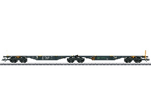 Marklin Dubbele Draagwagen MFD Rail