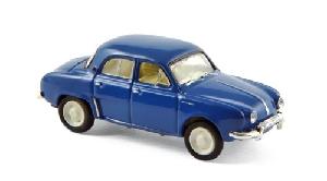 Norev Renault Dauphine 1956 Blauw 1:87
