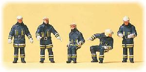 Preiser Brandweermannen in actie