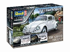 Revell TECHNIK VW Kever 1951/52  1:16