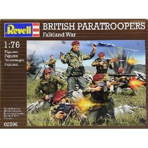 Revell Britisch Paratroopers Falkland War 1:76