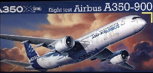 Revell Airbus A350-900 flight test