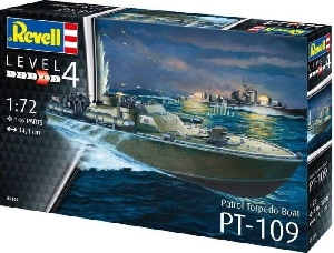 Revell Patrol Torpedo Boat  PT-109 1:72