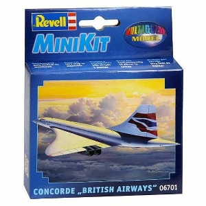 "Revell Concorde""British Airways""MiniKit"