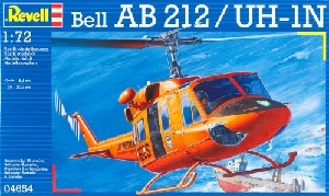 Revell Bell Heli AB 212 Model-set