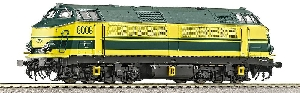 Roco Diesell. Serie60 gelb AC
