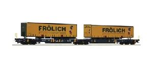 Roco Trailer Transoprt T2000 Frólich