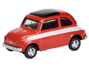 Schuco Fiat 500 Rood  H0