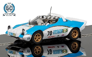 Scalextric Lancia Stratos 1970 Anniversery Car No. 5