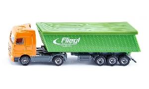 Siku Truck met Fliegl Kieper  1:87