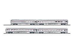 Trix SNCF 4-delige wagenset