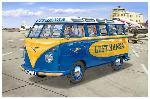 Revell Samba Bus Lufthansa  1:24