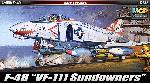 "Academy F-4B  USN ""VF-111 Sundowners"" 1:48"