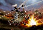 Italeri Helicopter AH-64D Apache Longbow  1:48