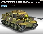 Academy Tiger 1 Late Version   1:35