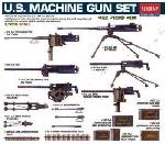Academy US WWII Mach.Gun set