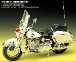 Academy Police Motorbike`1:10