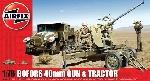 Airfix Bofors Gun met Tractor S2  1:72