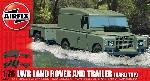 Airfix Landrover met trailer