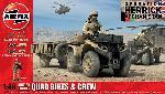 Airfix Quad Bikes & Crew  1:48