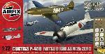 Airfix Dogfight  DB P-40 & Zero 1:72