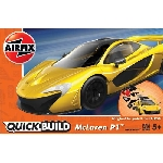 Airfix Mc Laren P1 Geel Quickbuild