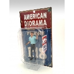 American Diorama Bediende pompstation USA