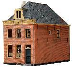 Artitec Huis met schilddak 18e eeuw