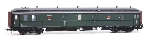 Artitec NS Postwagen P 7012 olijfgroen grijs dak Ic-IIIa