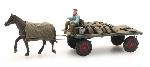 Artitec Kolenwagen met Paard