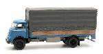 Artitec DAF open bak met huif Cab. ?55 blauw met hout