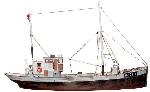 Artitec Noorse vissersboot Framtid  Bouwkit 1:87