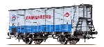 """Brawa NS Goederenwagen G10  """"Zwanenburg""""  H0"""