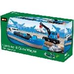 Brio Containerschip met kraan