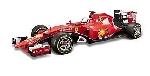 Burago Ferrari  F1 2015 S. Vettel / K.Raikkonen 1:18