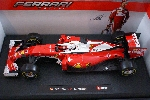 Burago Ferrari  F1 SF16-H K. Raikkonen / S . Vettel  1:18