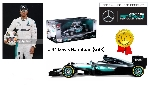 Burago F1 Mercedes  W07 Hybrid  Lewis Hamilton  1:18