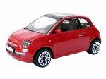 Burago Fiat 500 2008 Rood 1:43