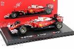 Burago Ferrari  F1 SF16-H Raikkonen/Vettel  1:43