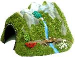 Busch TUNNEL/WATERVAL H0